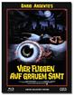 Vier Fliegen auf grauem Samt - Limited Edition Media Book (Cover Blu-ray