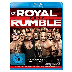 WWE Royal Rumble 2017 Blu-ray