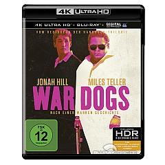 War Dogs (2016) 4K (4K UHD + Blu-ray + UV Copy) Blu-ray