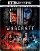 Warcraft 4K (4K UHD + Blu-ray + UV Copy) (UK Import ohne dt. Ton) Blu-ray