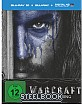 Warcraft: The Beginning 3D (Limited Steelbook Edition) (Blu-ray 3D + Blu-ray + UV Copy) (Cover A) Blu-ray