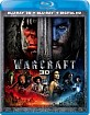 Warcraft 3D (Blu-ray 3D + Blu-ray + UV Copy) (US Import ohne dt. Ton) Blu-ray