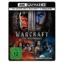 Warcraft: The Beginning 4K (4K UHD + Blu-ray + UV Copy) Blu-ray