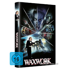 Waxwork (1988) (Limited Hartbox Edition) (Cover B) Blu-ray