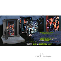 Waxwork (1988) (Limited Mediabook Büsten Edition) (2. Neuauflage) Blu-ray