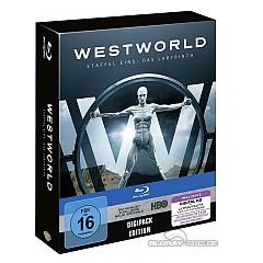 Westworld - Staffel eins: Das Labyrinth (Limited Digipak Edition) (3 Blu-ray + UV Copy) Blu-ray
