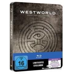 Westworld - Staffel eins: Das Labyrinth (Limited Steelbook Edition) (3 Blu-ray + UV Copy) Blu-ray