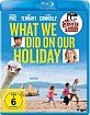 What We Did on Our Holiday (2014) Blu-ray