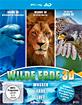 Delfine 3D + Wildnis 3D - Die letzten ihrer Art + Die Welt der Falken 3D (Wilde Erde 3D Box) Blu-ray