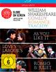 William Shakespeare Box Blu-ray