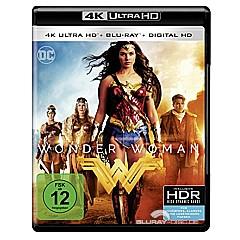 Wonder Woman (2017) 4K (4K UHD + Blu-ray + UV Copy) Blu-ray