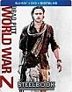 World War Z - Unrated Cut - Steelbook (Blu-ray + DVD + Digital Copy) (US Import ohne dt. Ton) Blu-ray