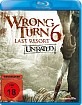 Wrong Turn 6: Last Resort Blu-ray