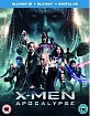 X-Men: Apocalypse 3D (Blu-ray 3D + Blu-ray + UV Copy) (UK Import ohne dt. Ton) Blu-ray