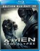 X-Men: Apocalypse 3D (Blu-ray 3D + Blu-ray + UV Copy) (FR Import ohne dt. Ton) Blu-ray