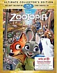 Zootopia (2016) 3D - Target Exclusive (Blu-ray 3D + Blu-ray + DVD + UV Copy) (US Import ohne dt. Ton) Blu-ray