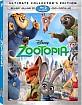 Zootopia (2016) 3D (Blu-ray 3D + Blu-ray + DVD + UV Copy) (US Import ohne dt. Ton) Blu-ray