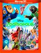 Zootropolis (2016) 3D (Blu-ray 3D + Blu-ray + UV Copy) (UK Import ohne dt. Ton) Blu-ray