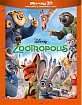Zootropolis 3D (Blu-ray 3D + Blu-ray) (IT Import) Blu-ray