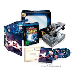 Zurück in die Zukunft - Trilogie (Collector's Edition) Blu-ray