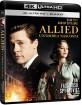 Allied: Un'ombra nascosta 4K (4K UHD + Blu-ray) (IT Import) Blu-ray