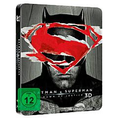 Batman v Superman: Dawn of Justice (2016) 3D - Kinofassung und Director's Cut (Limited Steelbook Edition) (Blu-ray 3D) Blu-ray