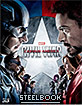 Captain America: Civil War (2015) 3D - Novamedia Exclusive Limited Full Slip Type B Edition Steelbook (KR Import ohne dt. Ton) Blu-ray