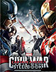 Captain America: Civil War (2015) 3D - Novamedia Exclusive Limited Lenticular Slip Edition Steelbook (KR Import ohne dt. Ton) Blu-ray