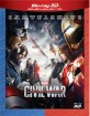 Captain America: Civil War (2015) 3D (Blu-ray 3D + Blu-ray) (IT Import ohne dt. Ton) Blu-ray