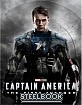 Captain America: The First Avenger 3D - KimchiDVD Exclusive Limited Lenticular Slip Edition Steelbook (KR Import ohne dt. Ton) Blu-ray