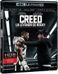 Creed: La leyenda de Rocky 4K (4K UHD + Blu-ray + Digital Copy) (ES Import) Blu-ray