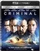 Criminal (2016) 4K (4K UHD + Blu-ray + UV Copy) (US Import ohne dt. Ton) Blu-ray