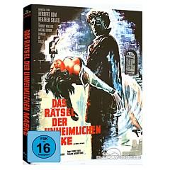 Das Rätsel der unheimlichen Maske (Limited Hammer Mediabook Edition) (Cover A) Blu-ray