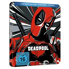 Deadpool (2016) (Limited Steelbook Edition) (Blu-ray + UV Copy) Blu-ray