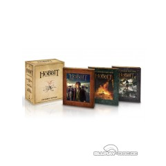 Der Hobbit: Die Trilogie (Extended Edition) (Limited Digipak Edition) Blu-ray
