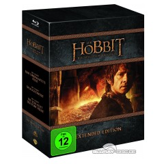 Der Hobbit: Die Trilogie - Extended Version (Blu-ray + UV Copy) Blu-ray