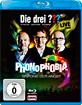 Die drei Fragezeichen: Phonophobia - Sinfonie der Angst (Live-Hörspiel) Blu-ray