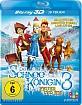 Die Schneekönigin 3 - Feuer und Eis 3D (Blu-ray 3D) Blu-ray