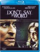 Don't Say a Word (Neuauflage) (IT Import) Blu-ray