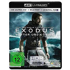 Exodus: Götter und Könige (2014) 4K (4K UHD + Blu-ray + UV Copy) Blu-ray