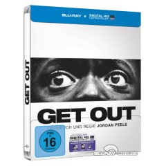 Get Out (2017) (Limited Steelbook Edition) (Blu-ray + UV Copy) Blu-ray