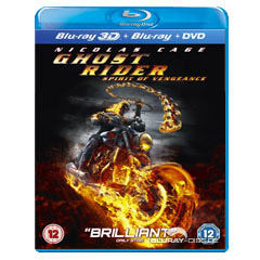 Ghost Rider: Spirit of Vengeance (Blu-ray 3D + Blu-ray + DVD) (UK Import ohne dt. Ton) Blu-ray
