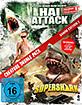 Hai Attack - Jetzt ist keiner mehr sicher! & Supershark (Creature Double Pack - Shark Edition 2) Blu-ray