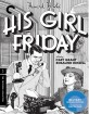 His Girl Friday - Criterion Collection (Region A - US Import ohn Blu-ray