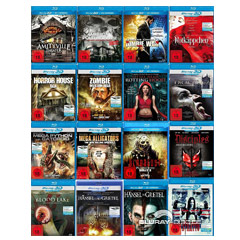 Horror Real 3D Blu-ray Collection (Blu-ray 3D) (16-Disc Set) Blu-ray