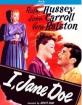 I, Jane Doe (1948) (Region A - US Import ohne dt. Ton) Blu-ray