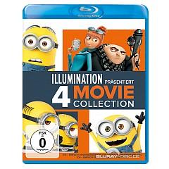 Ich - Einfach unverbesserlich 1-3 + Minions (2015) (4-Filme Collection) (Blu-ray + UV Copy) Blu-ray