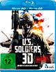 IMAX: U.S. Soldiers 3D - Vol. 1: Marines (Blu-ray 3D) Blu-ray
