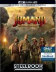 Jumanji: Welcome to the Jungle 4K - Best Buy Exclusive Steelbook (4K UHD + Blu-ray + UV Copy) (US Import ohne dt. Ton) Blu-ray