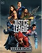 Justice League (2017) 4K - Manta Lab Exclusive Limited Single Lenticular Full Slip Edition Steelbook (HK Import ohne dt. Ton) Blu-ray